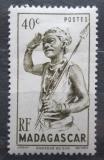 Poštovní známka Madagaskar 1946 Tanečník Mi# Mi# 389