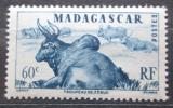 Poštovní známka Madagaskar 1946 Zebu Mi# Mi# 391