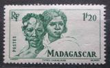 Poštovní známka Madagaskar 1946 Domorodci Mi# Mi# 394