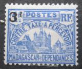 Poštovní známka Madagaskar 1927 Vladní budova, doplatní Mi# Mi# 19