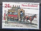 Poštovní známka Nový Zéland 1985 Historická tramvaj Mi# Mi# 919