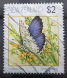 Poštovní známka Nový Zéland 1991 Zizina otis oxleyi Mi# 1209