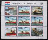 Poštovní známky Paraguay 1983 Letadlové lodě Mi# 3662 Bogen Kat 24€