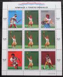 Poštovní známky Paraguay 1988 LOH Soul, tenis Mi# 4261 Bogen Kat 20€