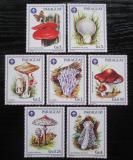 Poštovní známky Paraguay 1986 Houby Mi# 3950-56 Kat 10.50€