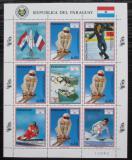 Poštovní známky Paraguay 1990 ZOH Albertville, lyžování Mi# 4475 Bogen Kat 20€