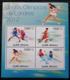 Poštovní známky Guinea-Bissau 2012 LOH Londýn Mi# 5947-50 Kat 16€