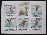Poštovní známky Guinea-Bissau 2010 Zimní sporty Mi# 4581-85 Kat 14€