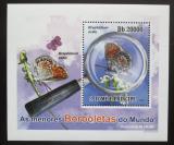 Poštovní známka Svatý Tomáš 2010 Motýli DELUXE Mi# 4559 Block