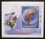 Poštovní známka Svatý Tomáš 2010 Motýli DELUXE Mi# 4562 Block