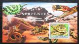 Poštovní známka Svatý Tomáš 2007 Hadi, skauting Mi# Block 594 Kat 11€