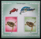 Poštovní známky Guinea-Bissau 2010 Želvy Mi# Block 867 Kat 12€