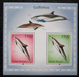Poštovní známky Guinea-Bissau 2010 Delfíni Mi# Block 868 Kat 12€