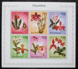 Poštovní známky Guinea-Bissau 2010 Orchideje Mi# 4977-84 Kat 12€