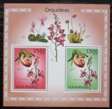 Poštovní známky Guinea-Bissau 2010 Orchideje Mi# Block 861 Kat 12€