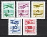 Poštovní známky Maďarsko 1988 Historická letadla Mi# 3984-88