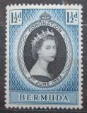 Poštovní známka Bermudy 1953 Královna Alžběta II. Mi# 129