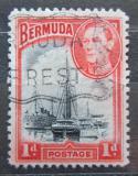 Poštovní známka Bermudy 1940 Lodě v přístavu Hamilton Mi# 101 b