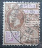 Poštovní známka Britská Guiana 1921 Král Jiří V. a fregata Mi# 143