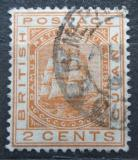 Poštovní známka Britská Guiana 1882 Fregata Mi# 61