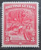 Poštovní známka Britská Guiana 1943 Těžba zlata Mi# 158