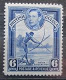 Poštovní známka Britská Guiana 1949 Rybolov Mi# 179