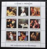 Poštovní známky Svatý Tomáš 2003 Umění Ermitáž Mi# 2449-57 13€