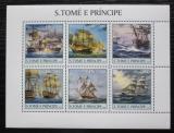 Poštovní známky Svatý Tomáš 2003 Plachetnice Mi# 2188-93 Kat 13€