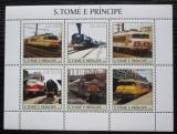 Poštovní známky Svatý Tomáš 2003 Lokomotivy Mi# 2314-19 Kat 11€