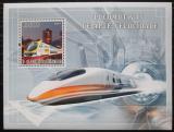 Poštovní známka Svatý Tomáš 2007 Moderní lokomotivy Mi# Block 619 Kat 12€