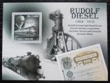 Poštovní známka Svatý Tomáš 2010 Dieselové lokomotivy Mi# Block 787 Kat 12€