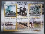 Poštovní známky Svatý Tomáš 2010 Parní lokomotivy Mi# 4394-98 Kat 11€