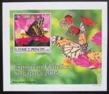 Poštovní známka Svatý Tomáš 2004 Motýli DELUXE neperf. Mi# 2604 B Block