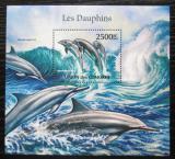 Poštovní známka Komory 2011 Delfíni Mi# Block 635 Kat 13€