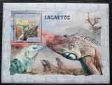 Poštovní známka Mosambik 2007 Ještěři Mi# Block 222 Kat 10€