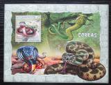 Poštovní známka Mosambik 2007 Kobry Mi# Block 223 Kat 10€