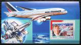 Poštovní známka Guinea 2006 Letadla Airbus DELUXE Mi# 4495 Block