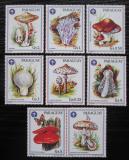 Poštovní známky Paraguay 1986 Houby s kupónem Mi# 3950-56 Kat 10.50€