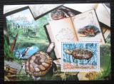 Poštovní známka Guinea-Bissau 2011 Želvy Mi# Block 964 Kat 12€