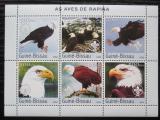 Poštovní známky Guinea-Bissau 2003 Dravci Mi# 2345-50 Kat 11€