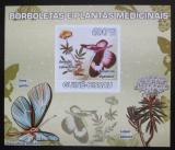 Poštovní známka Guinea-Bissau 2009 Motýli a léčivé rostliny Mi# 4130 B Block