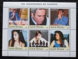 Poštovní známky Guinea-Bissau 2003 Světoví šachisti Mi# 2232-37 Kat 11€