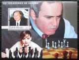 Poštovní známka Guinea-Bissau 2003 Světoví šachisti Mi# Block 401 Kat 12€