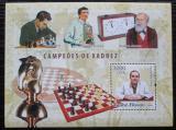 Poštovní známka Guinea-Bissau 2006 Světoví šachisti Mi# Block 578 Kat 12€