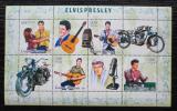 Poštovní známky Guinea-Bissau 2006 Elvis Presley Mi# 3431-34 Kat 8€