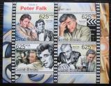 Poštovní známky Guinea-Bissau 2011 Peter Falk, Colombo Mi# 5488-91 Kat 10€