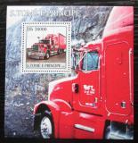 Poštovní známka Svatý Tomáš 2003 Americký truck Mi# Block 458 Kat 11€