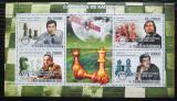 Poštovní známky Svatý Tomáš 2008 Světoví šachisti Mi# 3558-61 Kat 13€