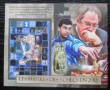 Poštovní známka Guinea 2012 Světoví šachisti Mi# Block 2118 Kat 16€