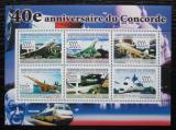 Poštovní známky Guinea 2009 Concorde, 40. výročí Mi# 6596-6601 Kat 12€